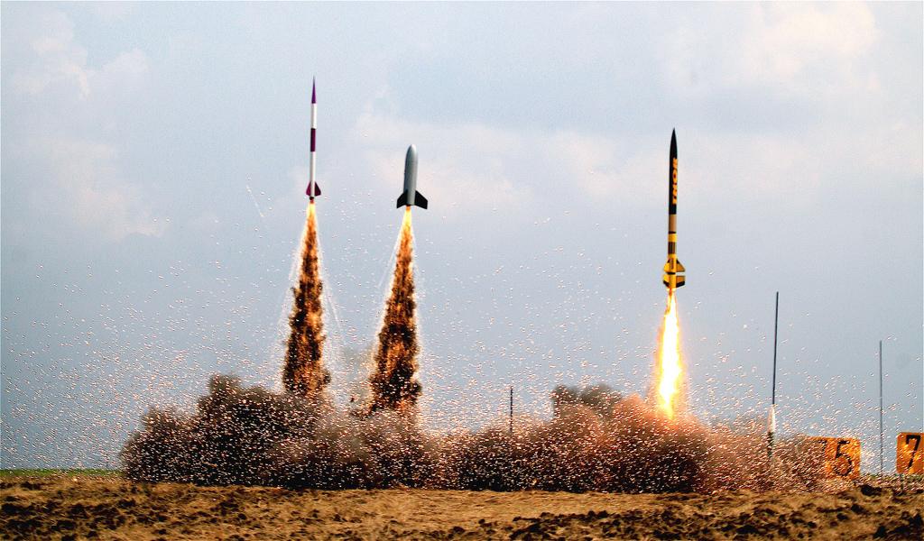 Rocket Firing